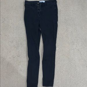 Hollister High Waisted Black Jeans